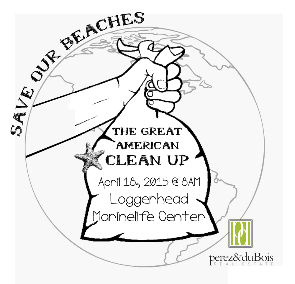 Beach Cleanup Logo